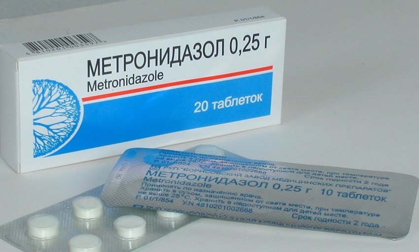 metronidazol dlya kur nesushek